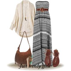 bohemian maxi dress Bohemian easy style outfits http://www.justtrendygirls.com/bohemian-easy-style-outfits/