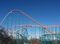 Six Flags is a fun attractive theme park located right in the heart of beautiful, wondrous Arlington, Texas. It's home to many large roller coasters, one being the massive Titan, which can be seen from miles away!