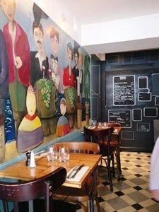 Ces derniers jours au moment de midi, je me suis trouvé à proximité du restaurant Le Coude Fou 12 rue du Bourg Tibourg 75004, l'accueil est agréable, le cadre est original, plusieurs fresques…
