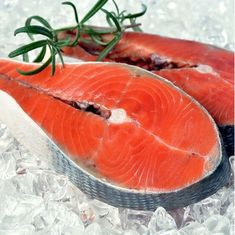 Zobrazit detail produktu - Divoký losos keta steak - 1000 g Mahi Mahi, Sashimi, Carrots, Steak, Menu, Fish, Vegetables, Detail, Menu Board Design