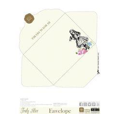 Truly Alice - Free Printable Envelope-PDF-TT-Talking Tables-Putti Fine Furnishings