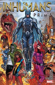 Nouvelle Série !!! Inhumans Prime n°1 (29.03.2017) // RESURRXION BEGINS HERE! In the wake of the awesome events of IVX — what will become of the Inhumans? In this oversized special issue — the trial of Maximus! The coming of Marvel Boy! And what is the dark secret of Black Bolt? A special bridging issue between the past of the Inhumans and their future — on Earth and in the stars! #inhumans #prime #marvel #comics