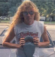 Dave Mustaine - Megadeth. This one is old as hell