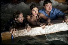 San Andreas : Photo Alexandra Daddario, Art Parkinson, & Hugo Johnstone-Burt.