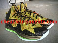 Champion Nike LeBron 10 Elite 2x Custom by Mache