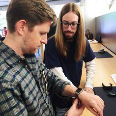 Trying on Apple Watch | Matt on Not-WordPress
