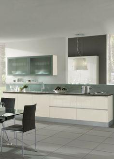 Küche, Weiß, Weiße Küche, Küchenzeile, Weiße Küchenzeile, Modern, Hochglanz,