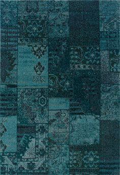Oriental Weavers Sphinx Revival Teal/Gray Persian Rug