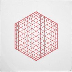 geometrydaily:    #184 Sphere/cube – A new minimal geometric composition each day  via topodesigns