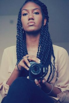 Love love love her braids. Will be doing this soon
