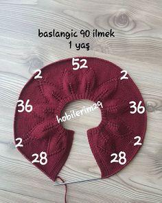 Baby Cardigan Collar For 1 Year Old - Best Knitting Baby Knitting Patterns, Baby Sweater Patterns, Knitting Stiches, Knitting For Kids, Crochet Patterns, Diy Crafts Knitting, Diy Crafts Crochet, Cardigan Bebe, Crochet Baby Cardigan