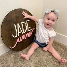wooden sign | nursery decor | nursery inspiration | baby | home decor | newborn #nurseryideas #nurserydecor #kidsbedroom #3dnursery #customnamesign #nurseryroomdecor #babynames #newmomgift #3Dnurserysign Nursery Name, Nursery Signs, Nursery Room Decor, Kids Bedroom, Gifts For New Moms, Nursery Inspiration, Name Signs, Baby Hacks, Wooden Signs