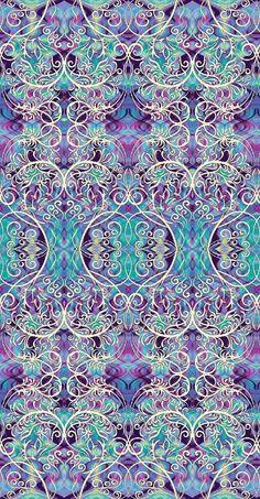 New Paula Nadelstern Fabric: Chromazone 2598 55 - Symmetrical Chromazone Filigree Blue. $11.50 per yard. Available for purchase at www.gatewayquiltsnstuff.com.