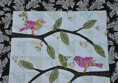 I would love to (have my mom help) applique drapes for baby's nursery.