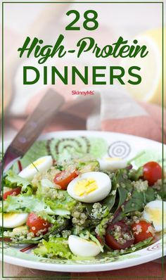 High-Protein diets are a fantastic way to lose weight! |  28 High-Protein Dinners