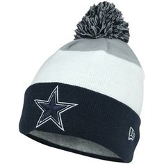 0c0a43c6b New Era Dallas Cowboys Youth Classic Cuffed Beanie - Gray White Navy Blue