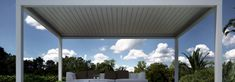 Terrassendach ausfahrbar: Lamellendach-System mit maximaler Flexibilität Pergola Designs, Balcony, Windows, Home, Diy, Fireplace Design, Fire Places, Covered Patios, Glass Roof