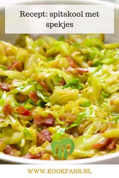 Recipe: pointed cabbage with bacon # violin recipes Recipe: pointed cabbage with bacon recipes . The Effective Pictures We Offer You About special diets recipes A qua Bacon Recipes, Casserole Recipes, Gourmet Recipes, Vegetarian Recipes, Cooking Recipes, Healthy Recipes, Weigt Watchers, Cocina Natural, Cabbage And Bacon