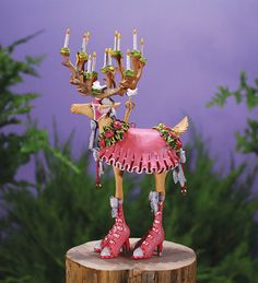 Dash Away Donna Ornament - Patience Brewster