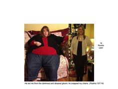 200 Pounds Lost so far...  30 Seconds at a time!    Please share the story of hope.  We can overcome!!    www.300poundsdown.com