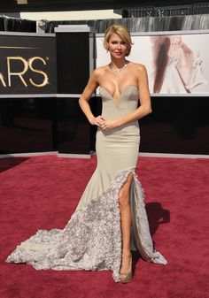 Oscar 2013: y el premio a la peor vestida es para...