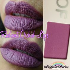 using the powder from the and Mac mixing medium to create the liplook. Love the color and can used as blush/eyeshadow. Purple Lipstick, Sephora, Orchids, Eyeshadow, Blush, Pantone, Makeup, Instagram Posts, Rouge