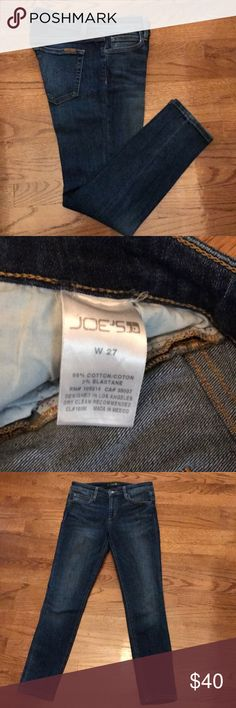 Joes ankle jeans 27 Joes jeans.   Good condition.  Ankle length Joe's Jeans Jeans Ankle & Cropped
