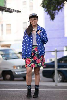 Fashionist: Vivian-Valencia Street