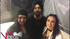 Shivani Bhagwan and Chaya Kumar in IFFA Awards with Diljit Viral Videos