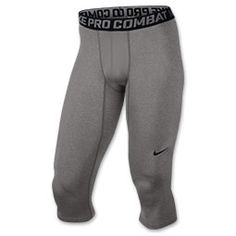 83a2da134d8371 Strive for excellence in the Men s Nike Pro Combat Core Compression 3 4  Tights.