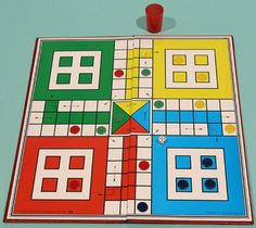 Ludo was originally an Indian game. It was introduced into Britain c. 1880. Reading was also popular in the 19th century.