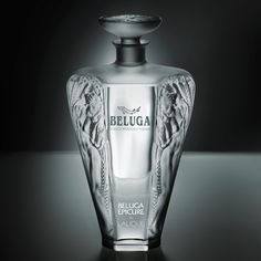 the limited edition Beluga Epicure by LALIQUE!   With only 1,000 crystal decanters produced, it is a true celebration of artistry and mastery of our craftsmen!