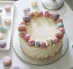 Pastel Cakes, Girly Cakes, Cute Cakes, Birthday Cake For Mom, Adult Birthday Cakes, 10th Birthday, Birthday Ideas, Mom Cake, Cake Day