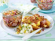 Sülze mit Bratkartoffeln - so geht's - suelze
