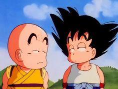 Goku and Krillen Kid Goku, Dragon Ball Z, Hxh Characters, Disney Characters, Fictional Characters, Card Captor, Dope Art, Illustrations, Aesthetic Anime