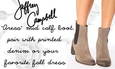 """Jeffrey Campbell """"Areas"""""""