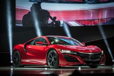 World premiere of the production of the 2017 ACURA NSX at a starting cost of $156K at the 2015 North American International Auto Show LL:)