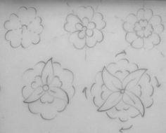 Eksen Üzeri ve Eksen Arası Merkezi Hatailer Islamic Art Pattern, Arabic Pattern, Tile Patterns, Pattern Art, Line Art Design, Turkish Art, Thai Art, Hand Engraving, Coloring Pages
