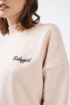 Babygirl High Neck Sweatshirt by Tee & Cake
