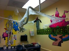 The Charleston, SC office decorated for Halloween!