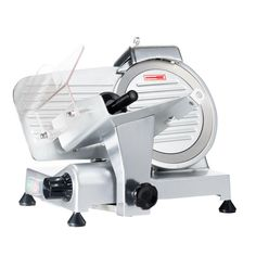 LEM Professional Meat Slicer Commercial Grade Electric Grinder Stainless Steel for sale online Barbecue Pork Ribs, Bbq Meat, Meat Slicers, Sliding Table, No Waste, Commercial Electric, Electric Foods, Small Restaurants, Food Trays