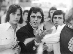 Elvis getting upset with how they are being treated in a store. It's very rare to see Elvis mad and angry