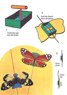 Toy butterfly diy
