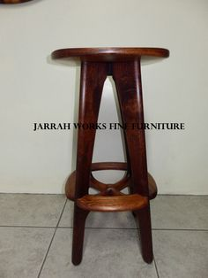 Nat Stool Side View Fine Furniture, Side View, Stools, Hardwood, Home Decor, Homemade Home Decor, Natural Wood, Nice Furniture, Stool