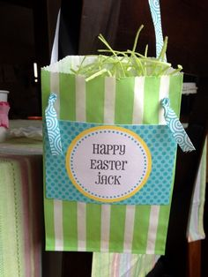 Bitty Bag Easter favors by @Jenny Dixon