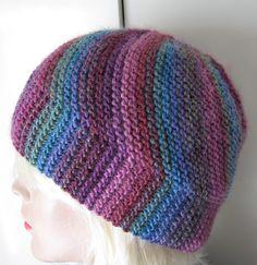 Free Knitting Pattern for Vertigo Swirl Hat