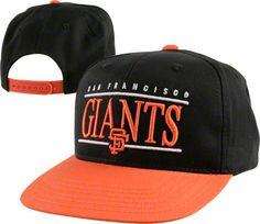 San Francisco Giants Nineties Retro Throwback Logo Snapback Adjustable Hat 9b10be8249bd