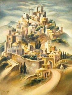 Fantastic jerusalem painting. I want to be confident with my artistic ability.
