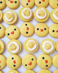 Macaron chickies