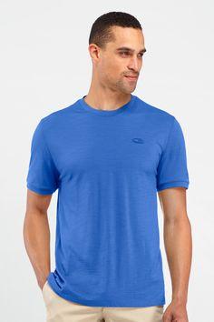 Tech T Lite Short Sleeve - blue color